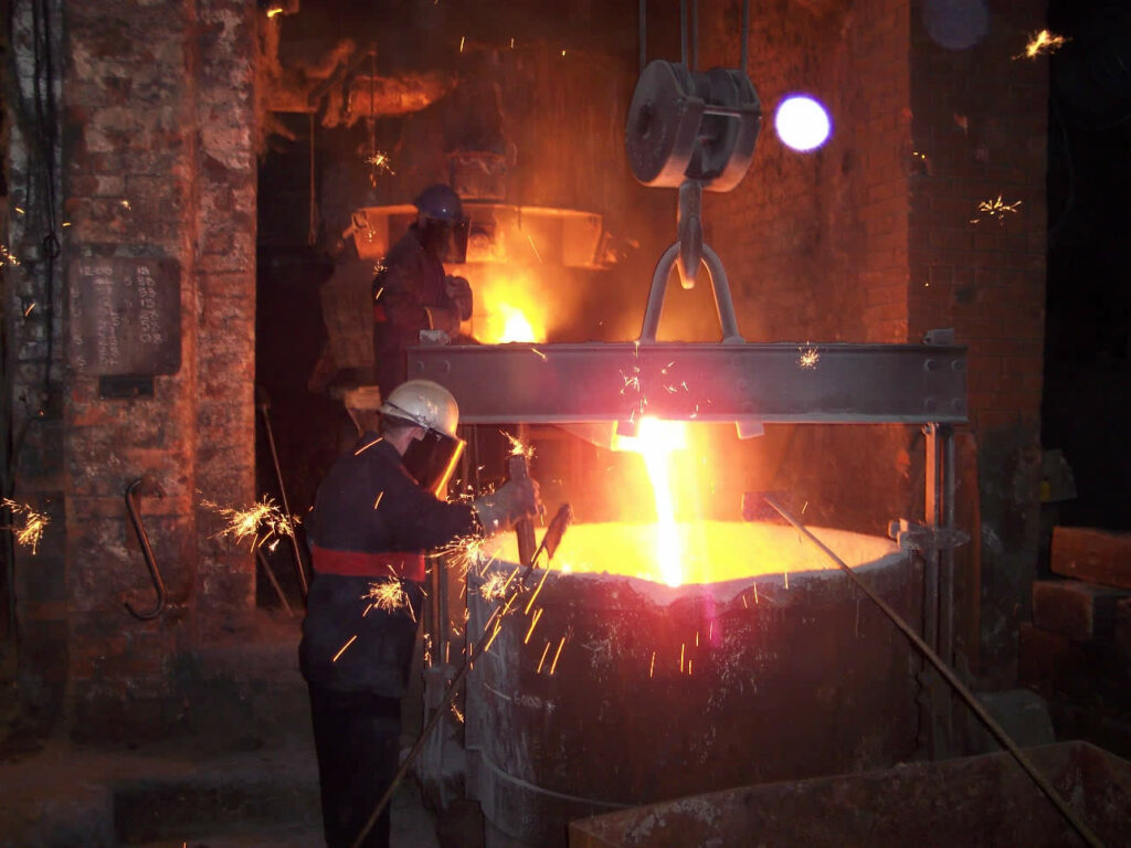 Traditional Casting at British Foundry