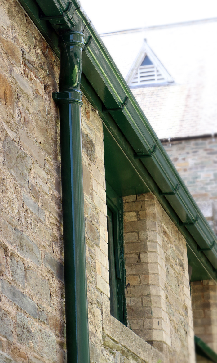 Painted Cast Iron Downpipe